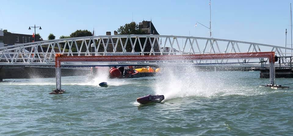 COWES IOW A-X SHOOTOUT RACE AND HEAT 1